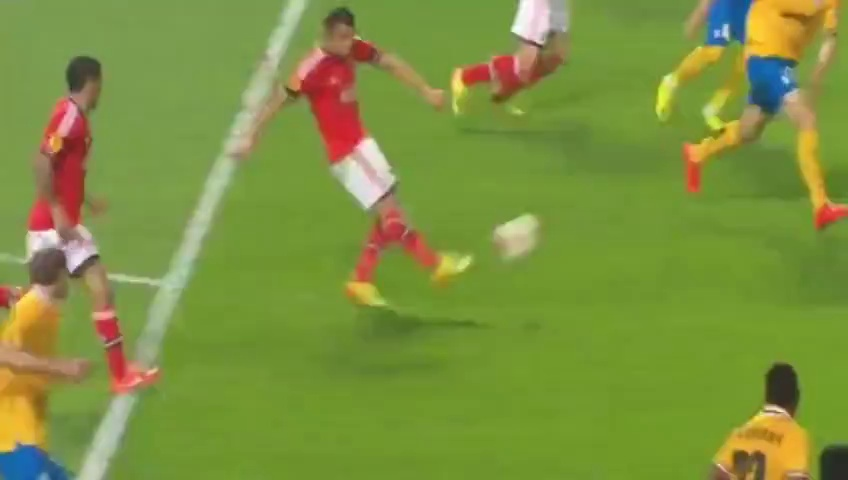 Benfica vs Juventus 2-1 Lima Fantastic Goal Europa LEague 24-04-2014 HD
