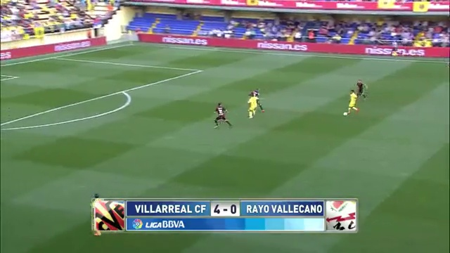 Villarreal 4 Rayo Vallecano 0