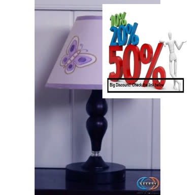 Best Price Geenny CF-2031-L Butterfly Lamp Shade Review