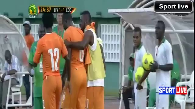 Côte d'Ivoire 3-4 R.D Congo ~ All Goals and Full Highlights