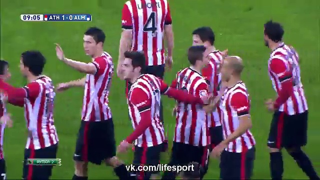 Athletic Bilbao 2 – 1 Almeria (All Goals and Highlights) 21.03.2015