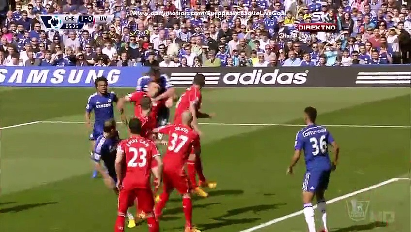 All Goals & Highlights Chelsea 1-1 Liverpool | PremierLeague 10.05.2015 HD