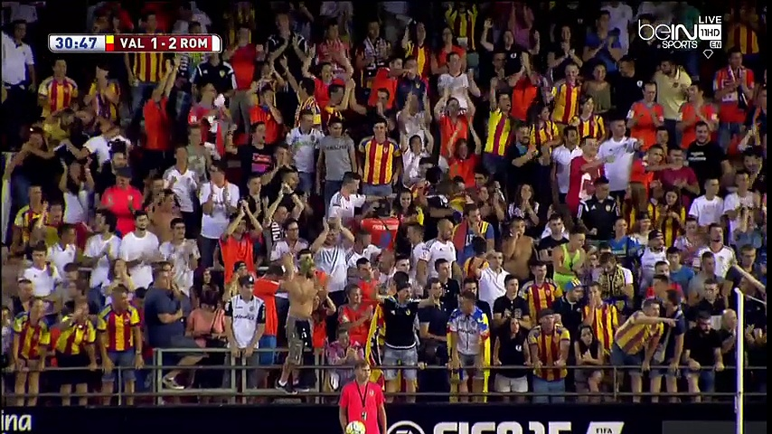 Valencia Vs Roma 1-3 Highlights 08-08-2015 Friendly