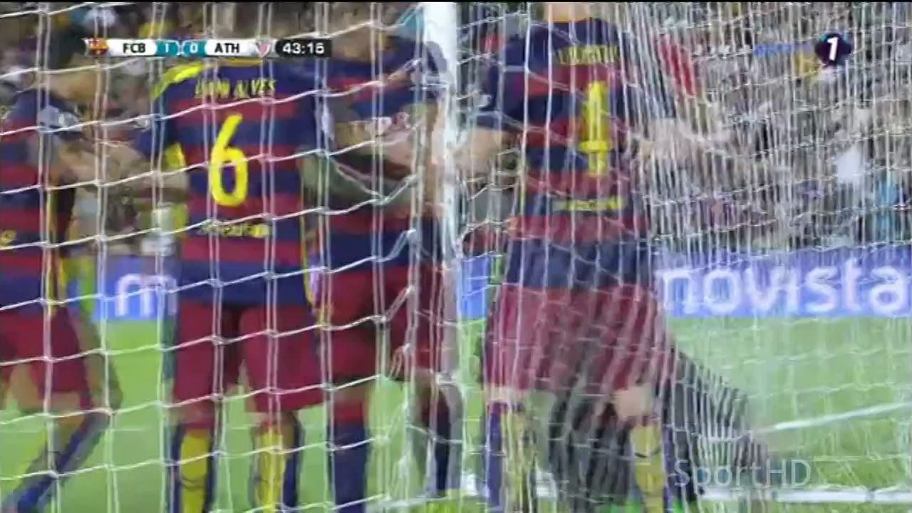 Barcelona – Athletic Bilbao 1-1 RESUMEN/ HIGHLIGHTS Supercopa De España 2015