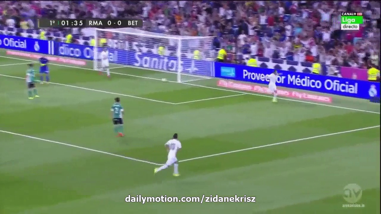 All Goals and Highlights HD – Real Madrid 5-0 Real Betis – La Liga 29.08.2015 HD – Video Dailymotion