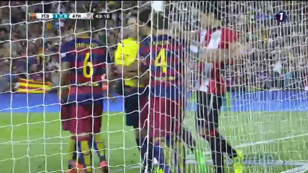 Barcelona – Athletic Bilbao 1-1 RESUMEN/ HIGHLIGHTS/ ALL GOALS Supercopa De España 2015