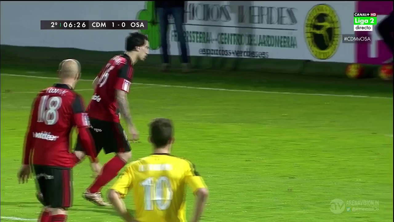 All Goals Spain  Segunda Division – 31.01.2016, CD Mirandés 4-0 CA Osasuna