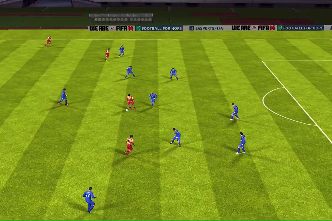 FIFA 14 iPhone-iPad – Getafe CF vs. FC Barcelona
