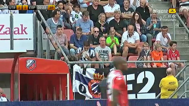 1-1 Felipe Caicedo Goal International  Club Friendly – 26.07.2016, FC Utrecht 1-1 RCD Espanyol