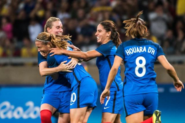 France 4 X 0 Colombia Women's Football 2016 Rio Olympic Games Group Stage Highlights