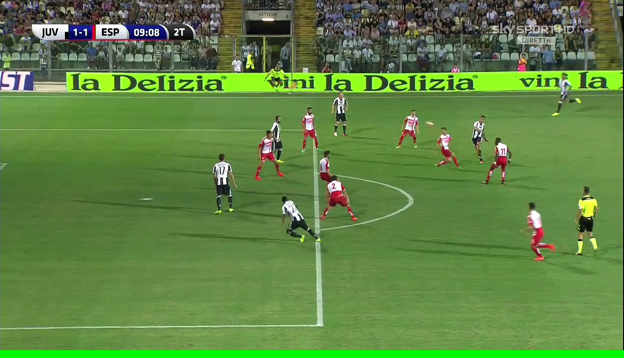 1-1 Mario Mandžukić Goal International  Club Friendly – 13.08.2016, Juventus FC 1-1 RCD Espanyol