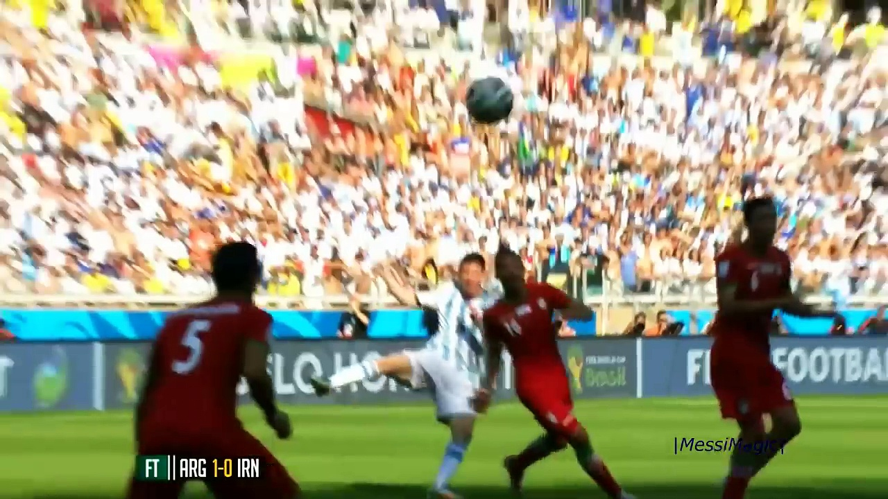Lionel Messi ● 10 Virtually Impossible Goals – Not Even Possible on PlayStation -HD