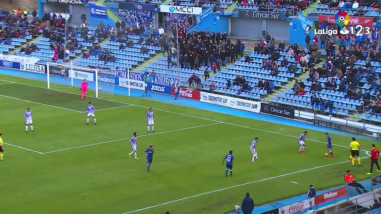 Getafe CF vs Real Valladolid 3-1 | All Goals & Highlights | 17-12-2016