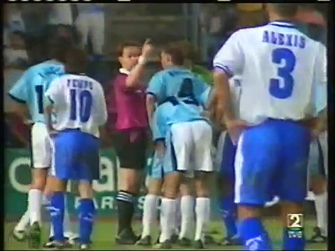 29.10.1996 – 1996-1997 UEFA Cup 2nd Round 2nd Leg CD Tenerife 5-3 SS Lazio