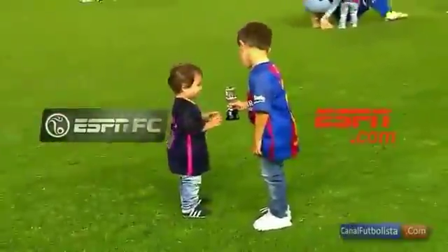 Lionel Messi And His Sons Celebrate Winning Copa Del Rey!