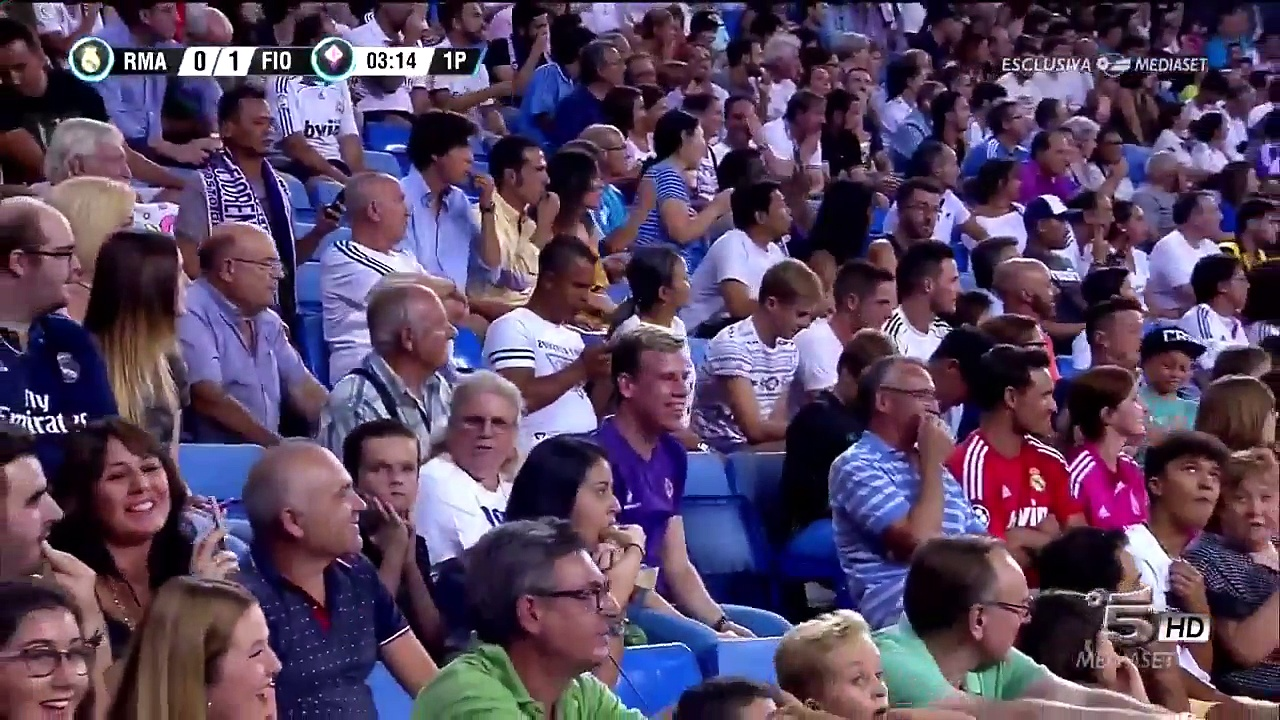 Real Madrid vs Fiorentina 2-1 – Highlights & Goals – 23 August 2017