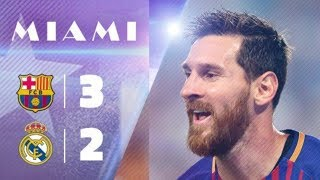 Real Madrid vs Barcelona 3-2 | Highlights & All Goals | International Champions Cup 2017