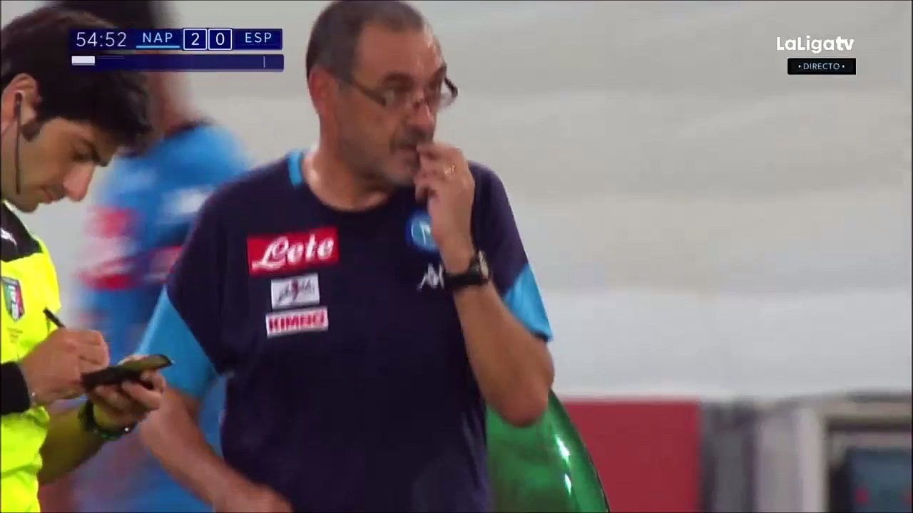 2-0 Raúl Albiol Goal International  Club Friendly – 10.08.2017 SSC Napoli 2-0 RCD Espanyol