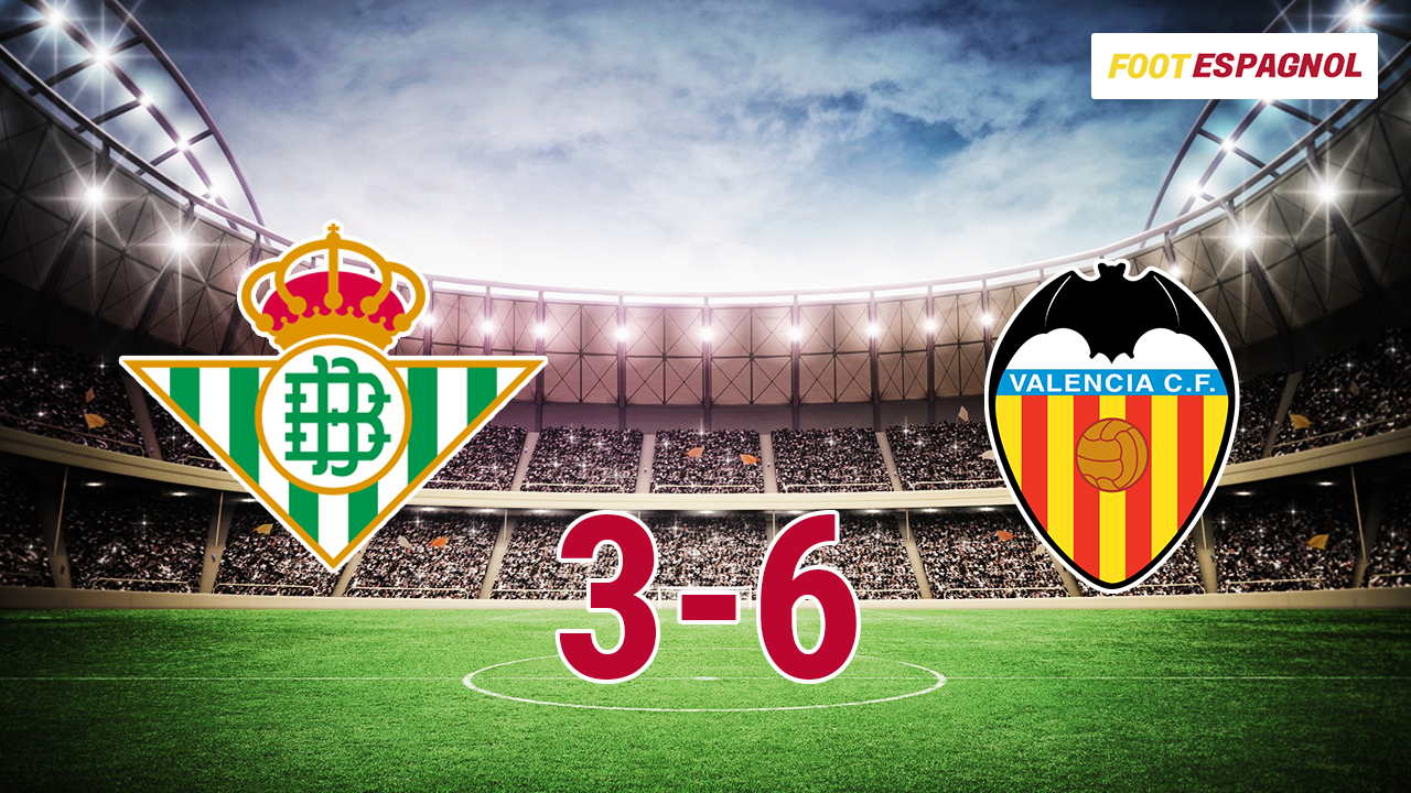 Real Betis vs Valencia CF Highlights & Goals (3-6) – La Liga 15/10/2017