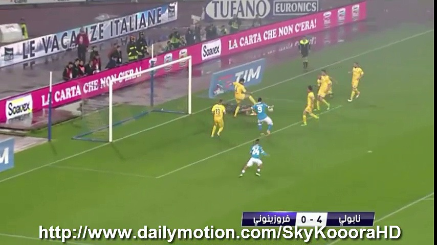 Napoli 4-0 Frosinone – All Goals (14.5.2016) Serie A