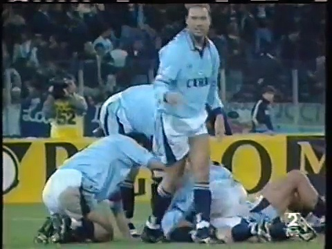 15.10.1996 – 1996-1997 UEFA Cup 2nd Round 1st Leg SS Lazio 1-0 CD Tenerife