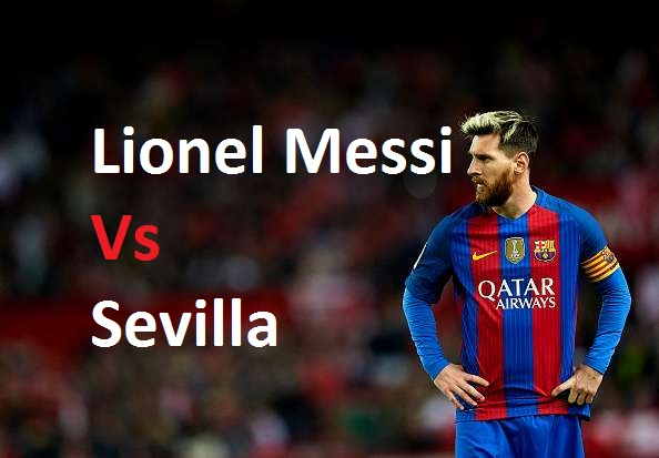 Lionel Messi Vs Sevilla (Home) 04-11-2017