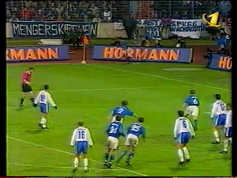 22.04.1997 – 1996-1997 UEFA Cup Semi Final 2nd Leg FC Schalke 04 2-0 CD Tenerife (After Extra Time)