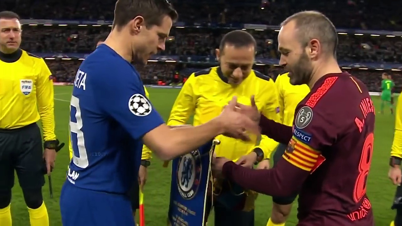 Chelsea vs Barcelona 1-1 – All Goals & Extended Highlights – UCL 20-02-2018 HD
