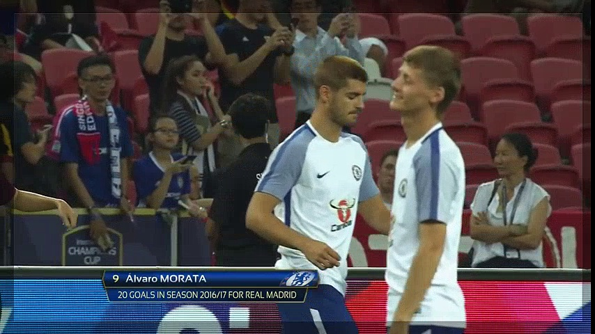 Alvaro Morata DEBUT vs Bayern Munich  fll