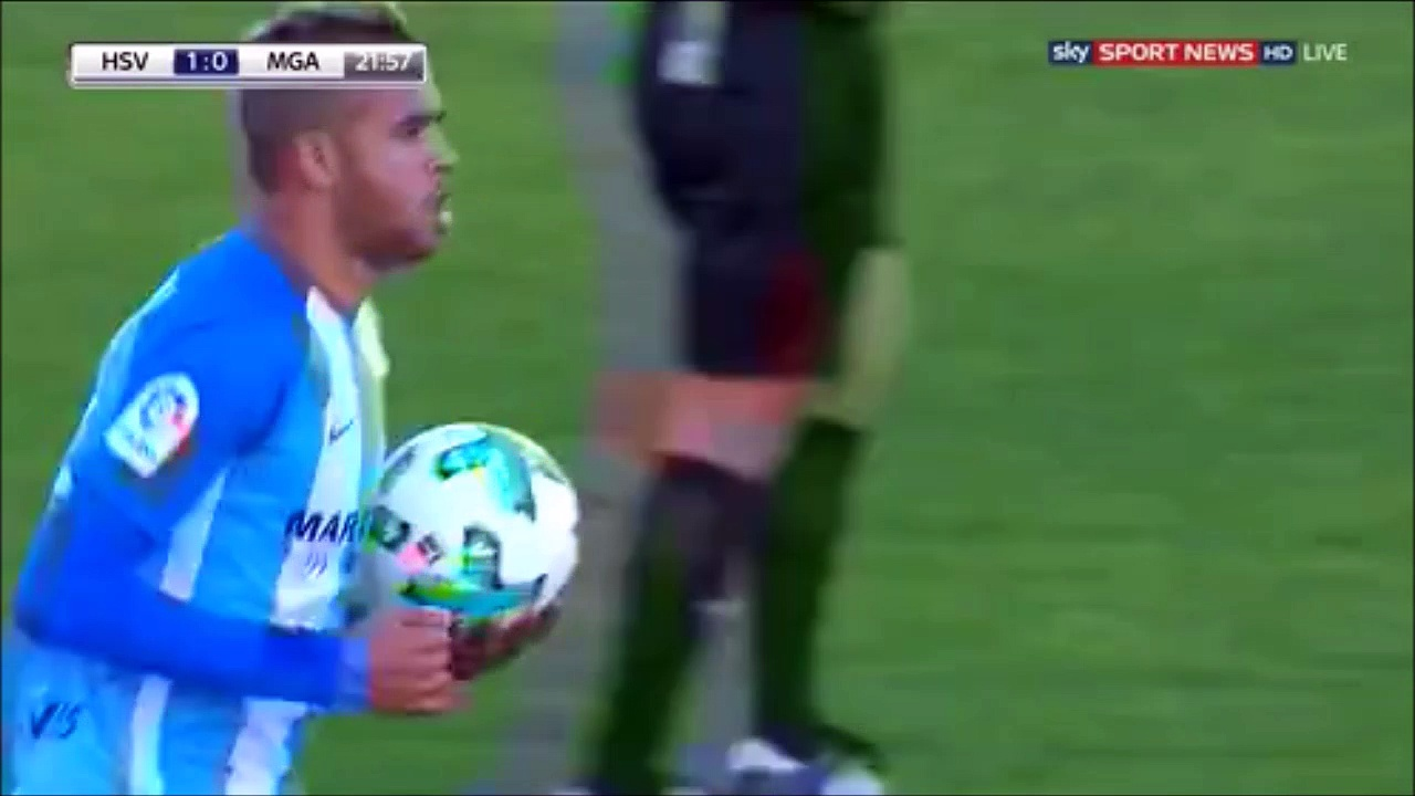1-1 Youssef En-Nesyri Goal International  Club Friendly – 04.01.2018Málaga CF 1-1 Hamburger SV