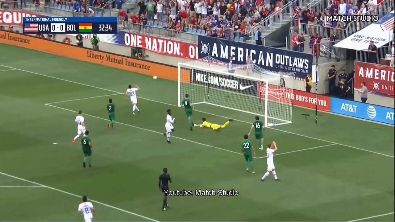 USA vs Bolivia 3-0 | All Goals & Highlights | Friendly Match 28/5/2018