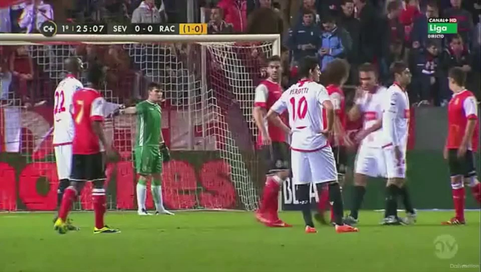11 DE LEGENDE Presents : JC AYINA – FORWARD (Sevilla v Racing Santander 1st half)