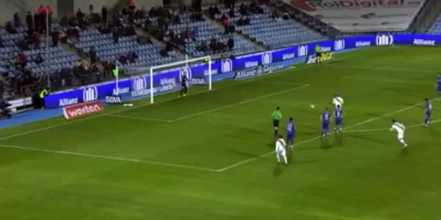JOZABED SANCHEZ RUIZ goal Getafe CF vs Rayo Vallecano 1-1 Highlight 2015
