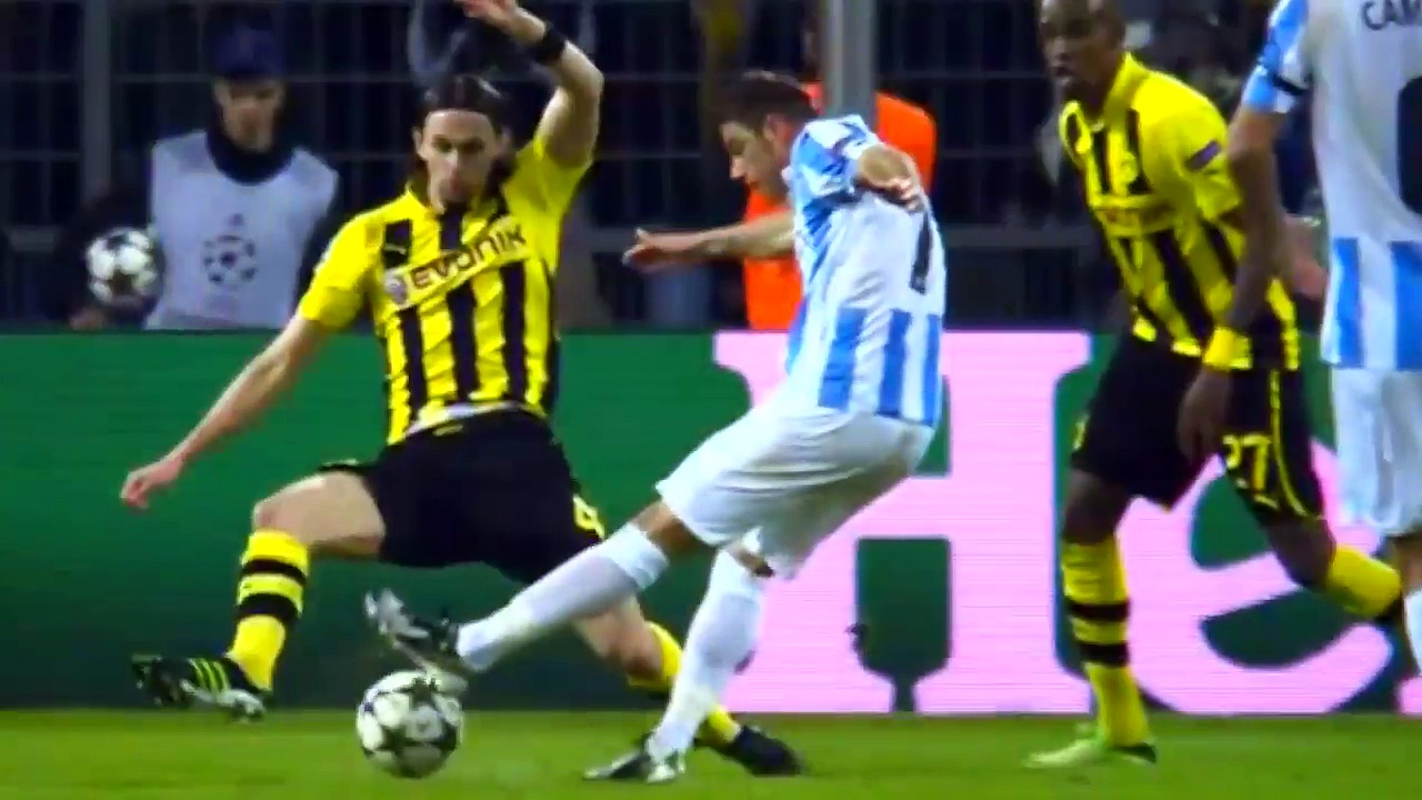 Borussia Dortmund vs Malaga CF 3-2 Highlights (UCL) 2012-13