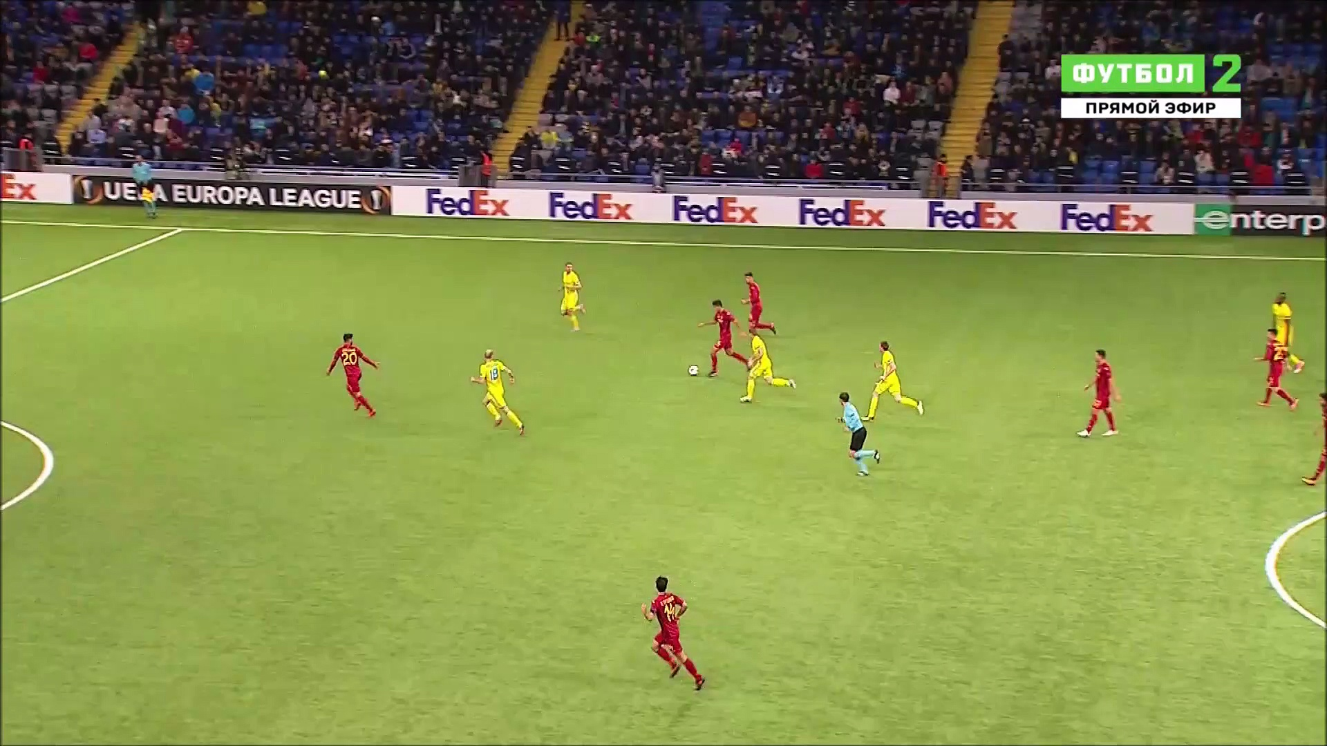 2-3 Patrick Twumasi Super Goal UEFA  Europa League  Group A – 23.11.2017 FC Astana 2-3 Villarreal CF