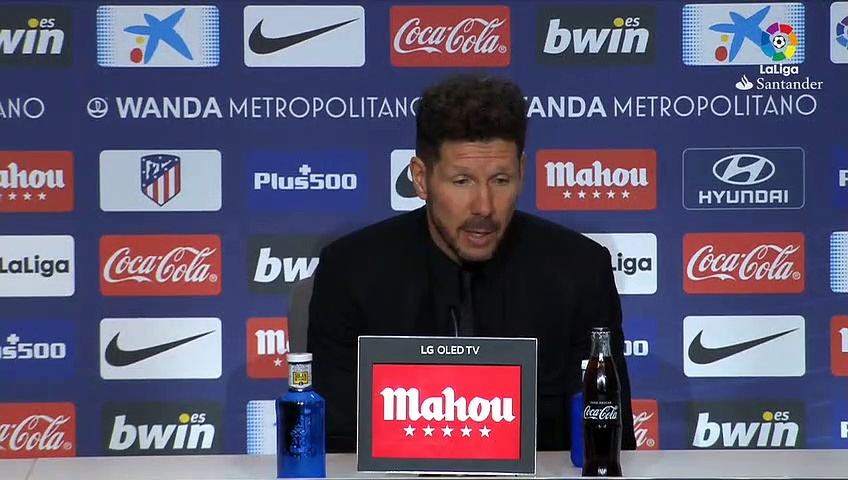 Simeone 'proud' of Atletico Madrid after 1-0 win against Espanyol in La Liga